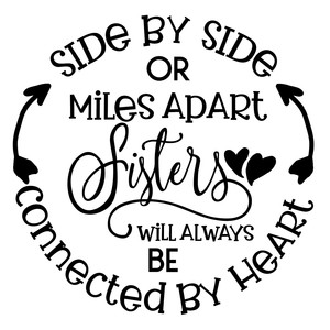 sisters will be connected by heart
