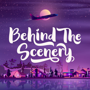 behind the scenery font
