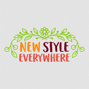 new style everywhere font