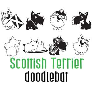 scottish terrier doodlebat