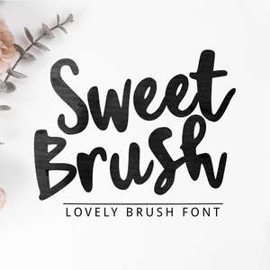 sweet brush