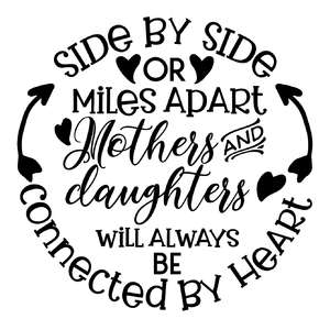 side by side or miles apart mothers and daughters