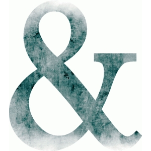 ampersand blue