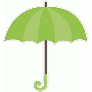 two toned umbrella