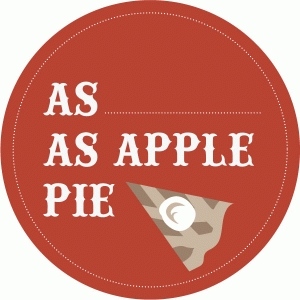 apple pie label