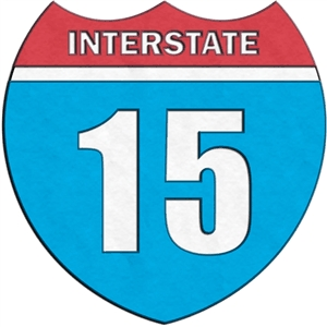 traffic sign - interstate