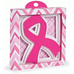 breast cancer awareness shadow box