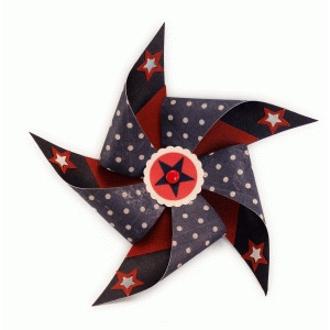five point 3d pinwheel