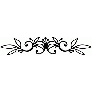 Silhouette Design Store View Design 68640 Vine Flourish