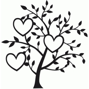 tree of three hearts
