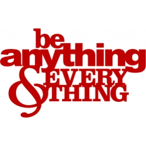 phrase: be anything