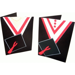 a6 graduation robe cards