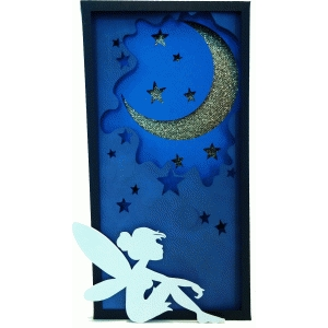 moon fairy shadowbox