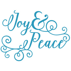 joy and peace phrase