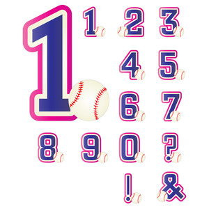 baseball-themed numbers