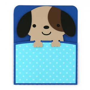 a2 dog pocket card