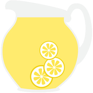 lemonade pitcher