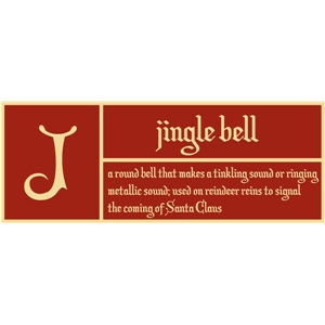 j is for jingle bell pc