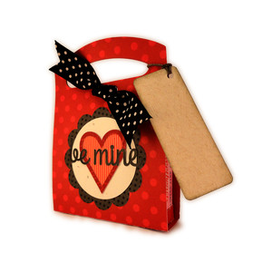 valentine box candy be mine tote