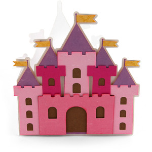 castle shaped card