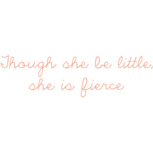 she is fierce quote