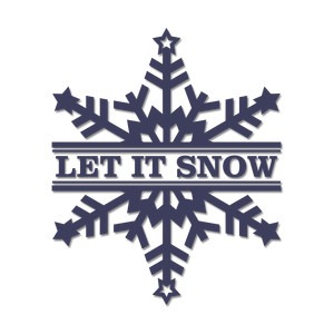 'let it snow' split snowflake