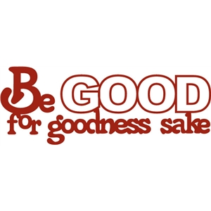 be good phrase