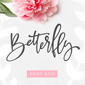 betterfly font duo