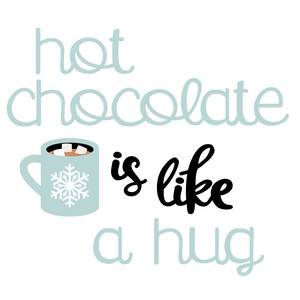 hello winter - hot chocolate