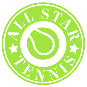 all star tennis label