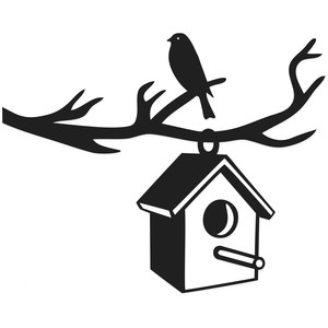birdhouse branch