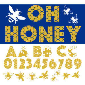 oh honey font
