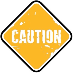 sign: caution