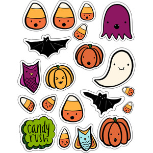 ml halloween candy corn and more stickers