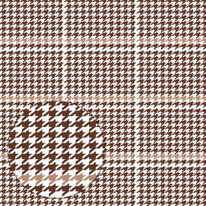 autumn houndstooth pattern