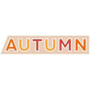 autumn word