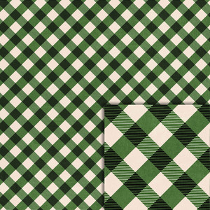 green and black buffalo check background paper