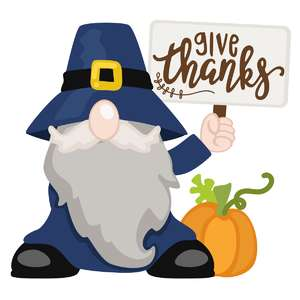 gnome give thanks