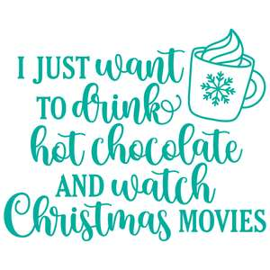 hot chocolate and christmas movies