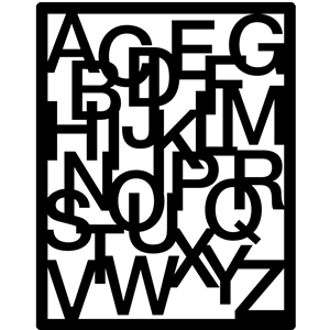 alphabet screen