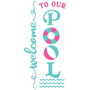 welcome to our pool vertical