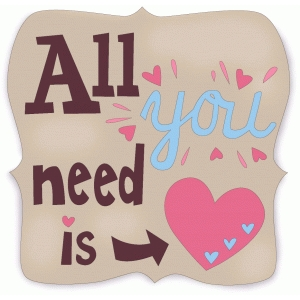 all you need phrase