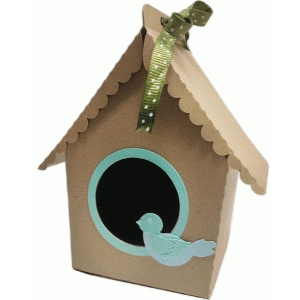 birdhouse candy box