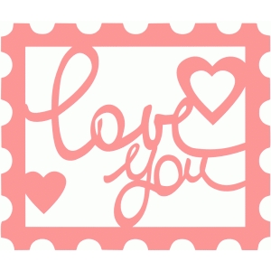 love you (stamp)