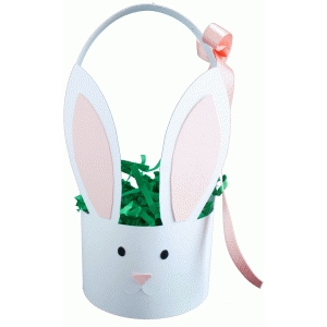 rabbit easter basket