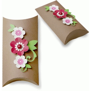 floral pillow box