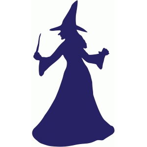 witch with wand