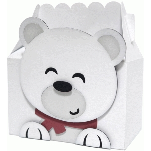 cute polar bear box