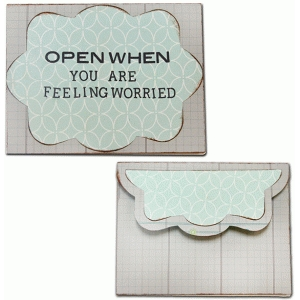 open when-you are worried