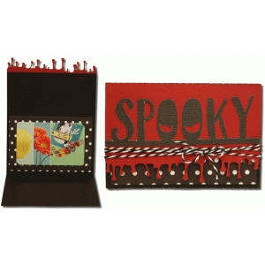 spooky gift card holder